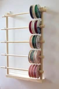Hanging Ribbon Holder Storage Rack