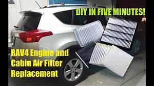 Toyota Rav4 Engine And Cabin Air Filter Replacement