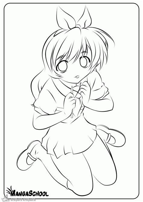 Anime Kleurplaat by Kleurplaten Anime Kleurplaten Kleurplaat Nl