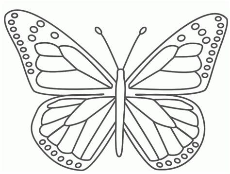 butterfly coloring pages kids coloring home