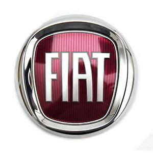 Fiat Emblem by Fiat Emblem Logo Frontemblem Firmenzeichen Rot Vorne Bravo