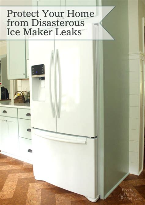 protect  home  costly refrigerator leaks