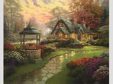Make a Wish Cottage The Thomas Kinkade Company