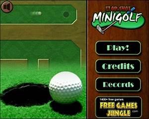 Free Minigolf Flash Game line Flop Shot Minigolf