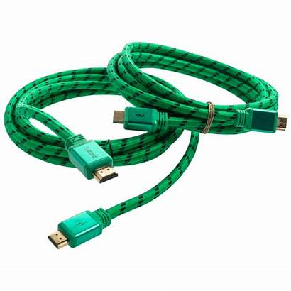 Cable Bundle Braided Cables Piece Hdmi Evergreen