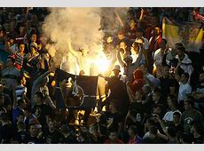 SerbiaAlbania Euro 2016 Qualifier Violent Brawl After