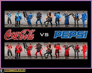 Coke Vs Pepsi Pack Team Fortress 2 U0026gt Skins U0026gt Packs