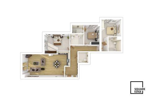 floor plans square edge  architectural
