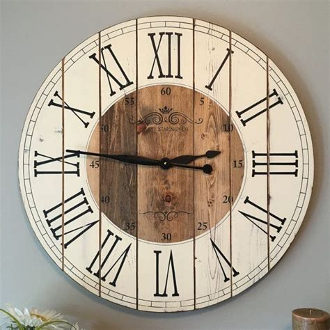 25 unique wooden clock plans best 25 rustic wall clocks ideas on wall