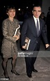 Barbara De Fina and Martin Scorsese during Armani Dinner ...