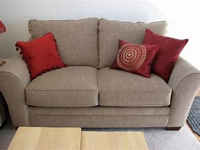 Furniture Ashley Loveseat Shore South Pillows Table