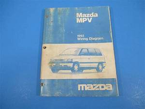 1992 Mazda Mpv Wiring Diagram Manual Ground Point Schematics Parts Location