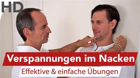 Nackenverspannung  Übung Gegen Verspannungen Im Nacken