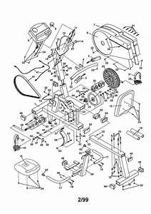 Proform 831288282 Exercise Cycle Parts