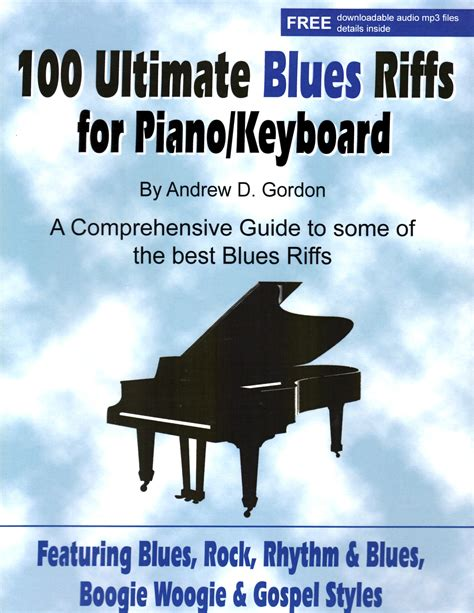 100 Ultimate Blues Riffs for Piano/Keyboards PDF/MP3 files