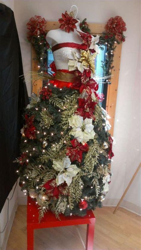 vestidos de arbol de navidad el gancho