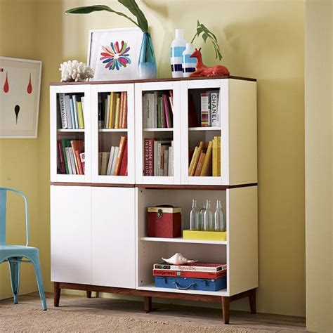 Book Cabinets With Doors by Glass Cabinets For A Chic Display