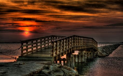 Flyover Beach Nature Hd Widescreen Wallpapers For Laptop