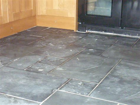 slate floor tile slate tiled floor restoration the floor restoration company