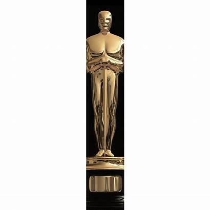 Oscar Statue Clipart Statuette Award Drawing Academy