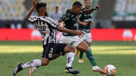 Assista à transmissão com imagem da jovem pan. Com gol aos 53, Palmeiras vence o Santos e conquista o ...
