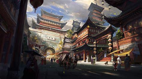 Japanese Anime Wallpaper Free - japanese anime scenery wallpapers top free japanese