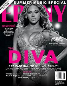 Beyonce on the cover of ebony
