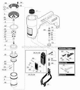 Senco K Parts List And Diagram