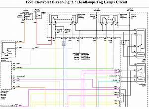 1998 Chevy Blazer 2 Door Suv     Lost Headlights  4wd