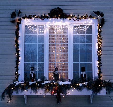 Christmas Window Decoration Ideas Home Elitflat