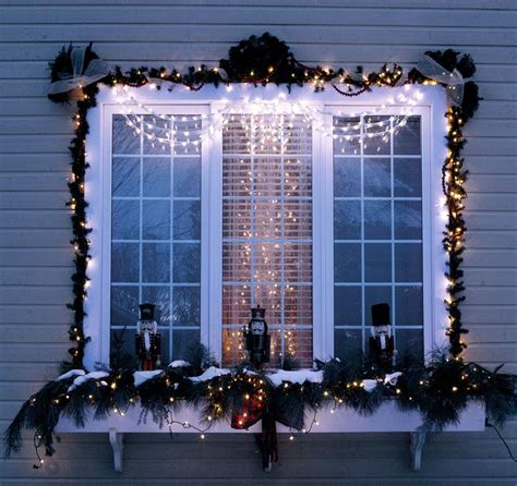 window box christmas decorating ideas home intuitive
