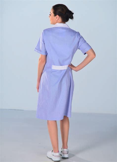 travail femme de chambre blouse de travail femme de ménage bleue blouse femme de