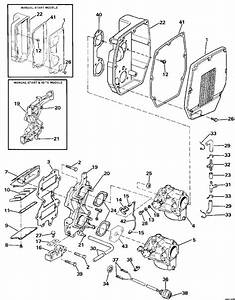 evinrude intake manifold and primer system parts for 1986 With diagram of 1986 e70elcdc evinrude intake manifold diagram and parts