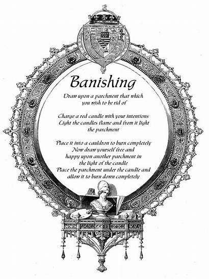 Spells Spell Banishing Wiccan Pagan Magick Witch