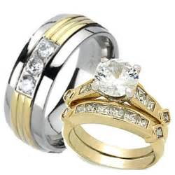 wedding ring sets the best of 3 wedding ring sets yellow gold lovely rings