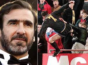 footie.co.za » Eric Cantona: kung-fu kick was for the fans