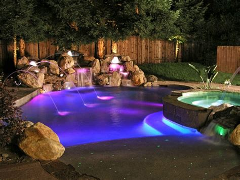 inground pool lights in ground swimming pool cost