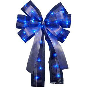blue christmas bows happy holidays