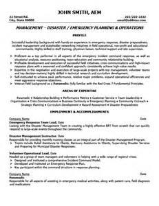 team leader resume free emergency response team leader resume template premium resume sles exle