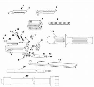 Buy Hitachi W6v4sd 4 000 Rpm Collated Screw Driver Replacement Tool Parts