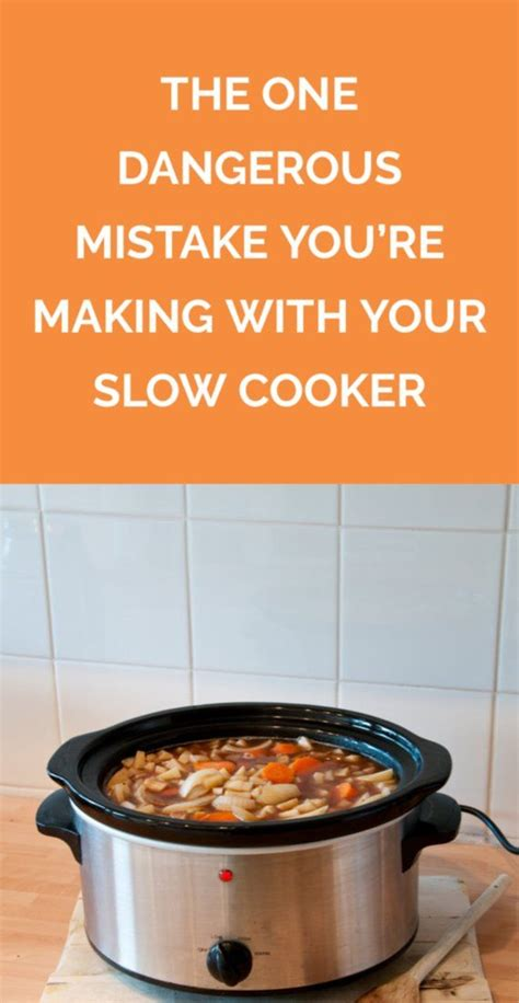 cooker slow realsimple mistake dangerous making re