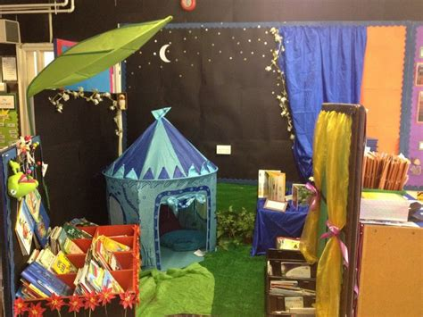 My Reception Class Night Garden Reading Area )  Ideas For School  Pinterest  Gardens, Night