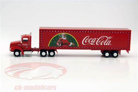ck modelcars 443012 truck coca cola with led