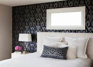 Bedroom Black White – 44 Interior Design Ideas With A ...