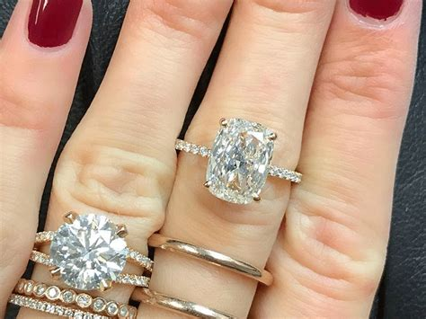 what a 50 000 difference looks like in engagement rings who what wear