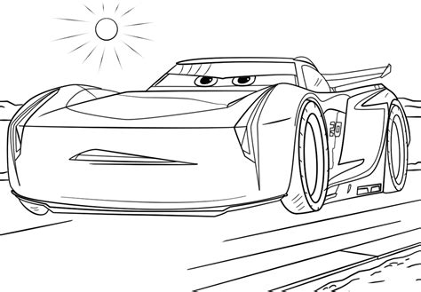 Cars Dinoco Coloring Pages