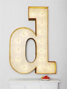 giant marquee letter sign tutorial vintage revivals With giant marquee letters