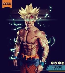 Goku Súper Héroes en la vida real (Super Heroes in
