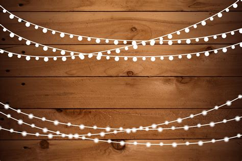 String Lights Clipart by String Lights Clip Set Png Ai