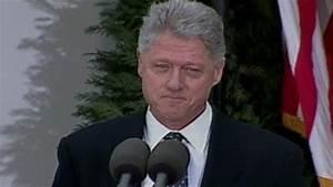 Feb. 12, 1999: President Clinton Apologizes Video - ABC News